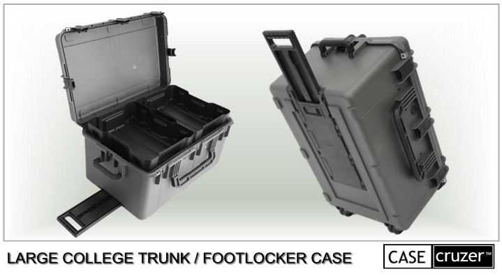 Small College Trunk Footlocker Case