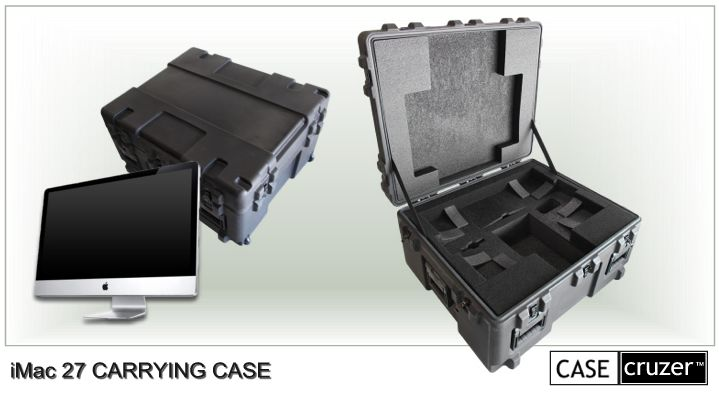 newest collection 17f6b f6f18 CaseCruzer iMac 27 Carrying Case Press Release 12-04-2009