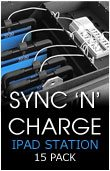iPad Charging Station Plus Sync - 15 Pack
