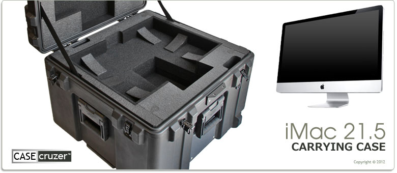 best sneakers 27fd9 6a714 iMac 21.5 Carrying Case by CaseCruzer