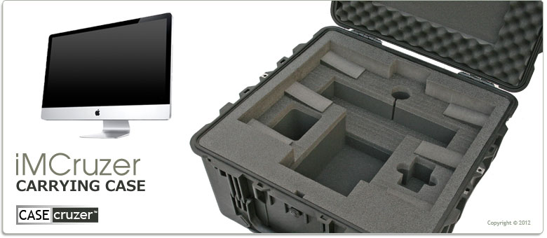 new products a560a d027b iMCruzer - Apple iMac Computer Shipping Case