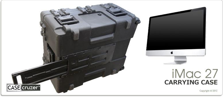 half off 1e419 a5b11 iMac 27 inch Shipping & Carrying Case: CaseCruzer