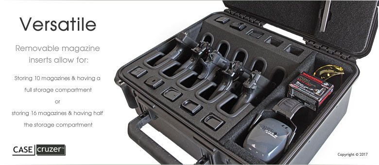 Shooting Range Universal 5 Pack Handgun Case