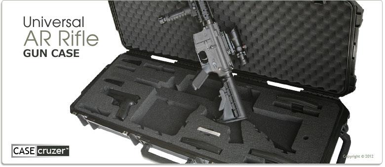 Universal Ar15 Tactical Rifle Case Guncruzer