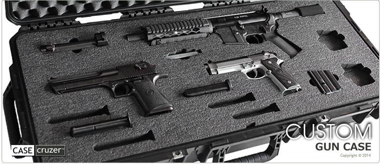 Gun Cases And Handgun Storage Lockable Airtight