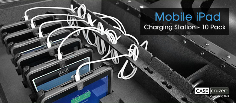 Multiple Ipad Charging Station Mobile 10 Pack Theft